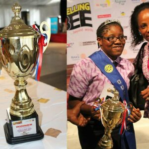The Champions of the 8th Edition of the Rotary Club Spelling bee 2018