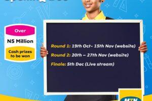 MTN mPulse Spelling Bee Competition 2020 topline schools elelenwo, Port Harcourt, Nigeria