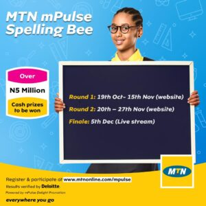 Topline School Emerges 4th Place Winner of th MTN Pulse National Spelling Bee Competition 2020 Edition